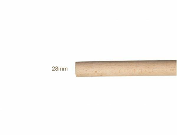 Beuken zitstok voor vogel 1,05 m x 28 mm