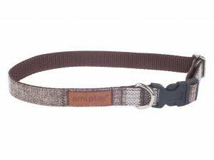 Ami Halsband London aanpasb. bruin 45-70cmx25mm XL