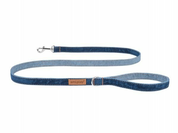 Ami Leiband Denim marineblauw 140cmx25mm XL