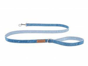 Ami Leiband Denim blauw 140cmx25mm XL