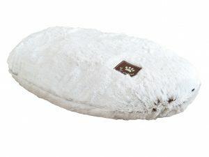 Kussen Snowhite wit 63x40cm