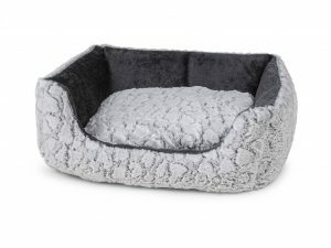 Hondenmand Mounty Ice grijs/antraciet 60x50x19cm
