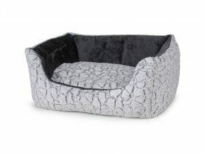 Hondenmand Mounty Ice grijs/antraciet 70x60x23cm