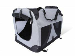 Transport Traveller nylon zwart 71x51x51cm L