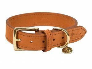 Halsband hond Nubu lichtbruin 60cmx40mm XXL