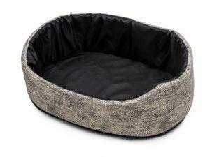 Hondenmand Winter grijs 45x30x19cm