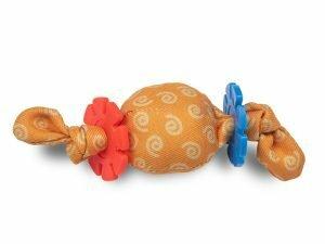 Speelgoed kat konijn ring 14cm