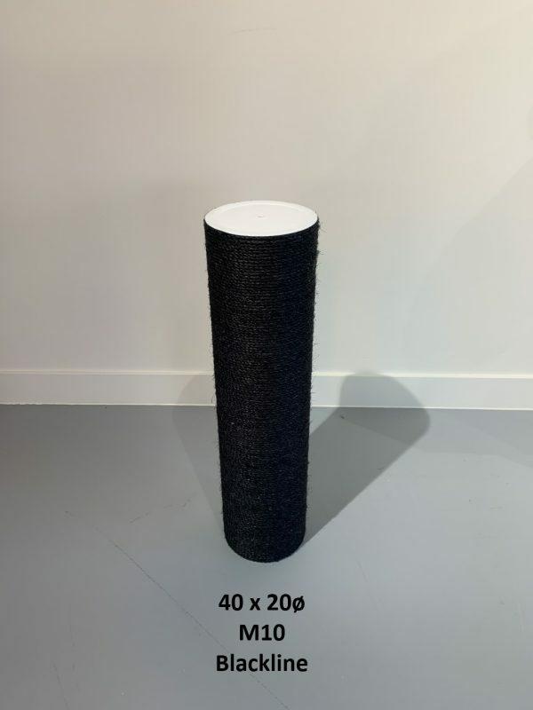 Sisalpaal 40x20Ø M10 BLACKLINE