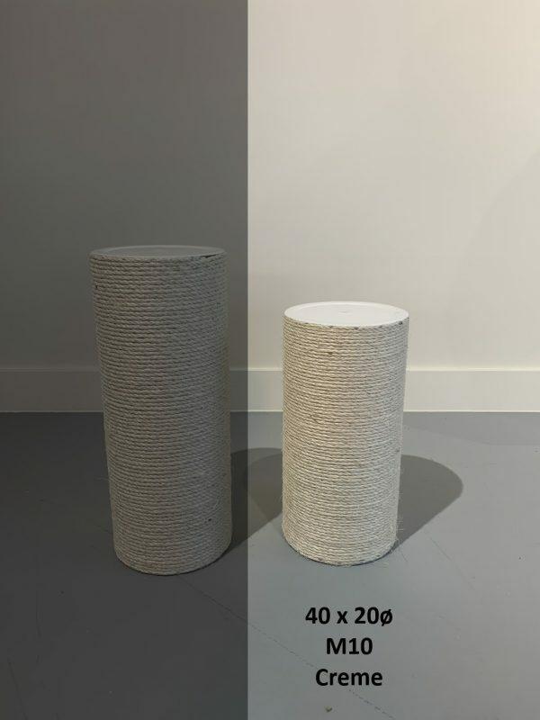Sisalpaal 40x20Ø M10