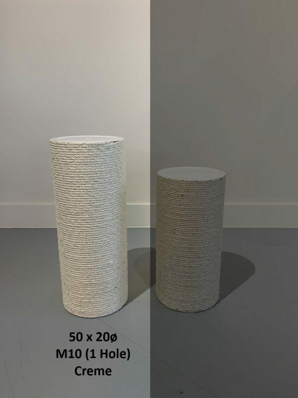 Sisalpaal 50x20Ø M10