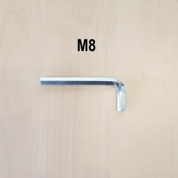 Inbus schroef M8