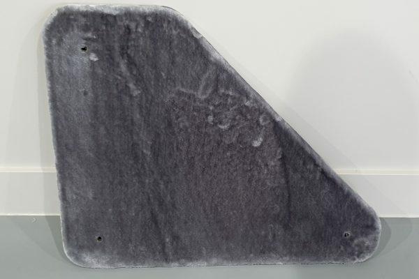 Bovenplaat driehoek - Corner Coon - Light Grey