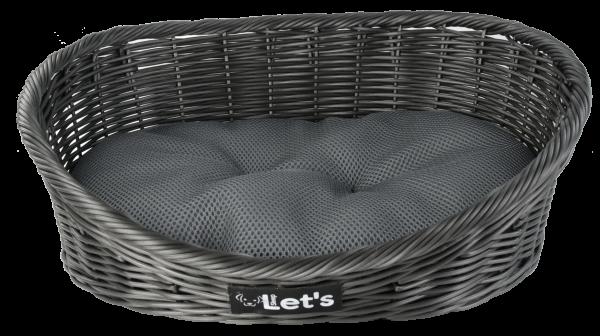 Let's Sleep Pet Bed S Dark Grey