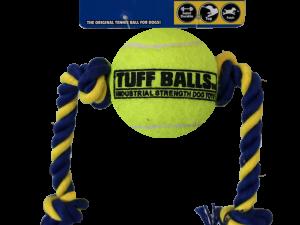 Mini Tuff Ball Tug 6cm, Rope 32cm