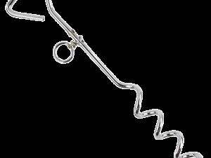 Pawise Spiral Aanlegpin (8 mm x 40 cm)
