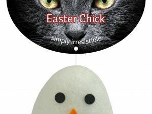 Crazy Cat Easter Chick vol met Madnip