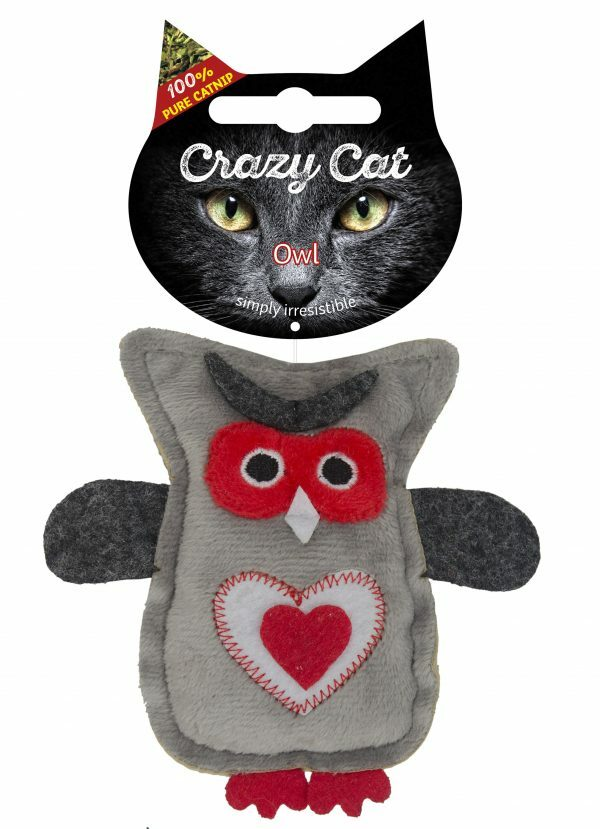 Crazy Cat Owl vol met Madnip