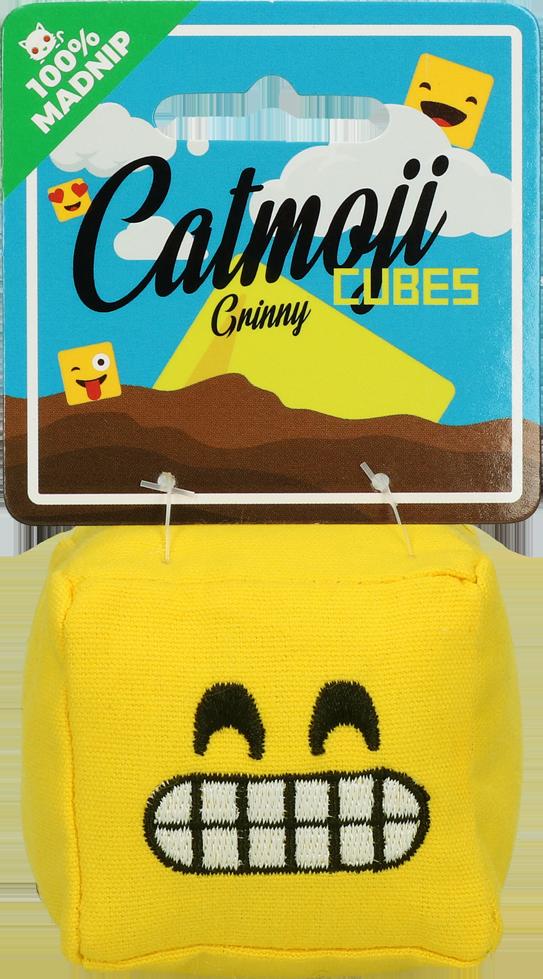 Emoji Cat Cube Grinny (met MadNip)