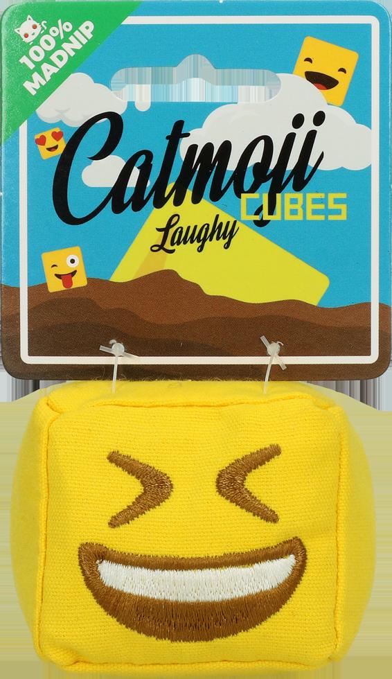 Emoji Cat Cube Laughy (met MadNip)