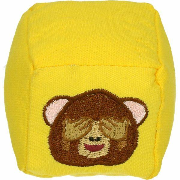 Emoji Cat Cube Monkey (met MadNip)