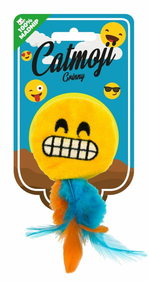 Emoji Cat Grinny (met MadNip)
