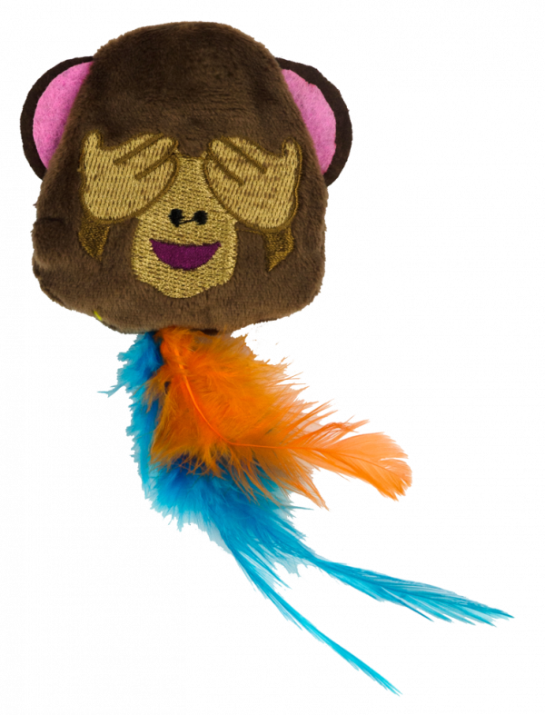 Emoji Cat Monkey (met MadNip)