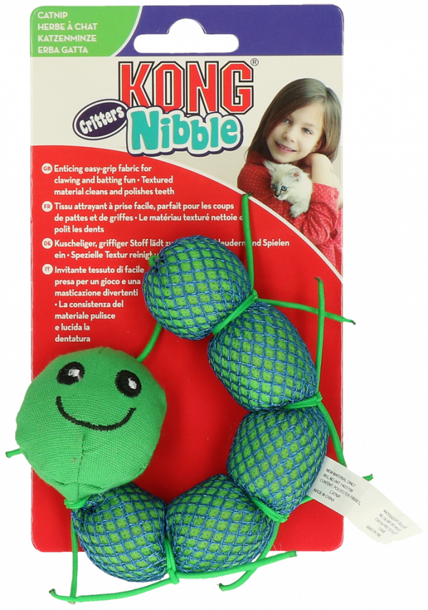 KONG Nibble Critters Catnipillar