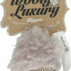 Wooly Luxury Slipper Grijs