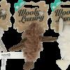 Wooly Luxury Vogel Grijs