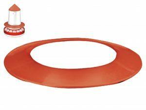 Beschermkap voor voersilo Ø33cm