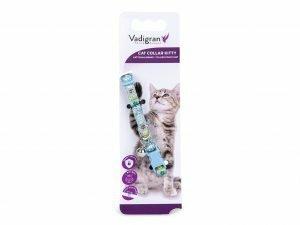 Halsband kat Kitty Cat lichtblauw 16-25cmx8mm