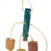 Birrdeeez Coral Ball & Sisal Cluster Parrot Toy