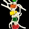 Birrdeeez Millipede Parrot Toy 420mm
