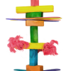 Birrdeeez Parkiet Houten speelgoed 35 cm