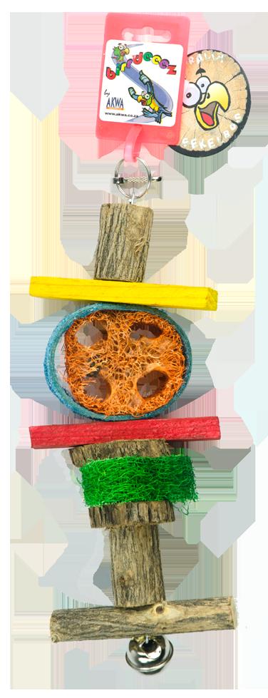 Birrdeeez Papegaai speelgoed 30 cm