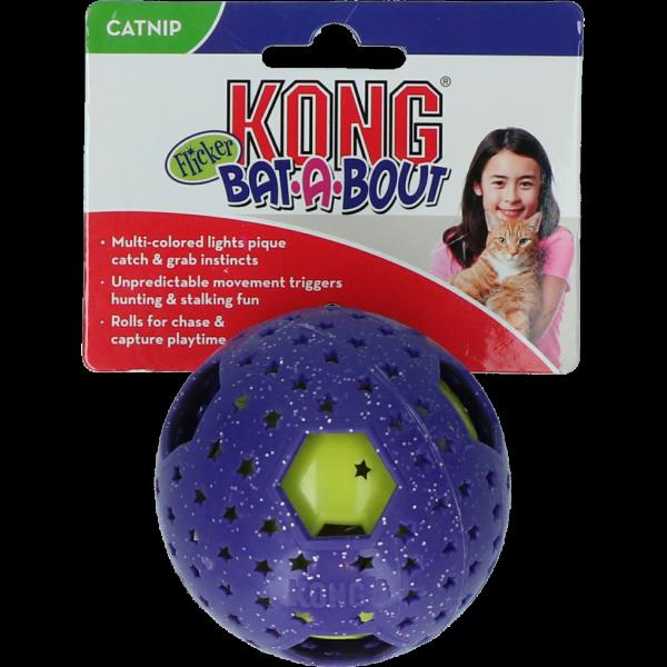 KONG Bat-A-Bout Flicker Disco EU