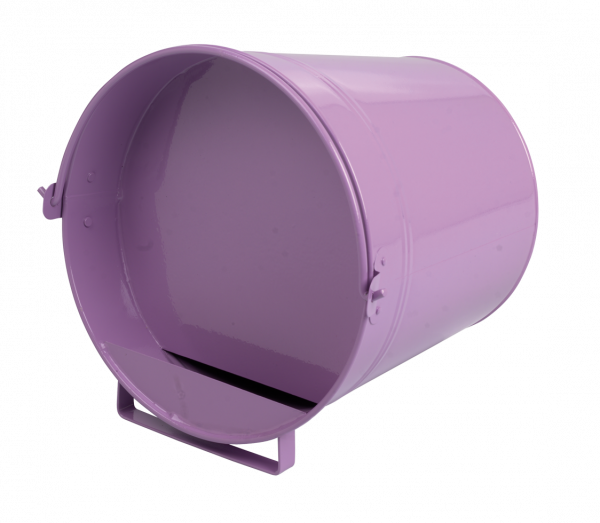 Pluimvee drinkemmer (gegalv) 7 liter purple