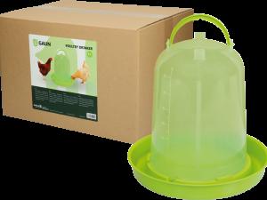 Pluimvee drinktoren 8 l green lemon