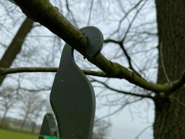 Voerstation vogel, voor ophangen mezenbolletjes