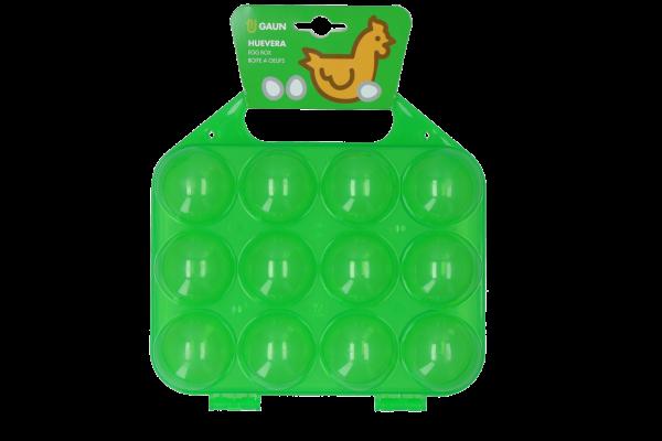 Pluimvee eieren traytje Lime 12 st.