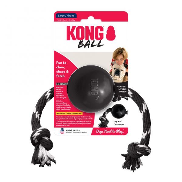 KONG KONG Extreme Ball met touw large