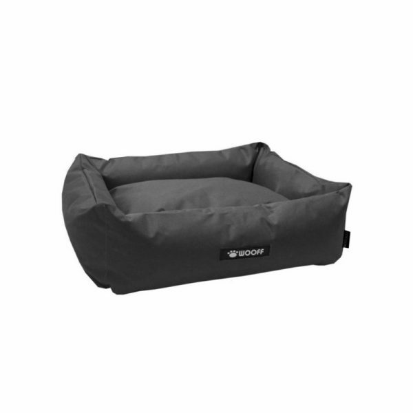 Wooff hondenmand Cocoon All Weather Donker grijs 90x70x22cm