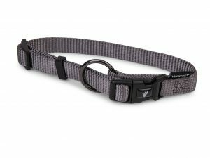 Halsband Classic Nylon taupe 20-35cmx10mm S