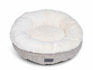 Donut Alys beige/wit Ø45cmx15cm