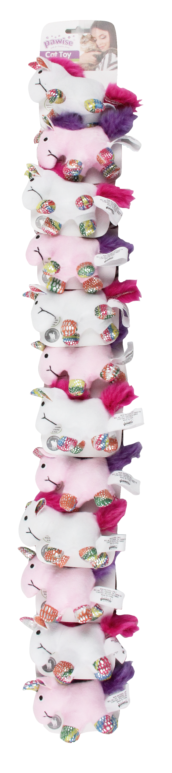 Pawise Cat toy-unicorn