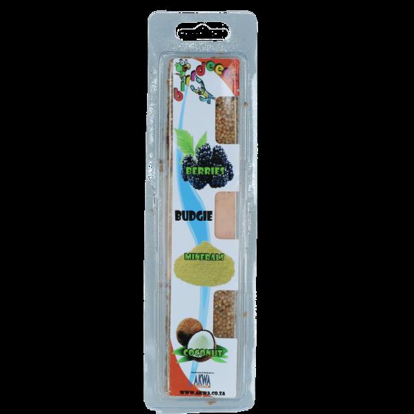 Birrdeeez Budgie Treat Berrie/Mineral/Coco
