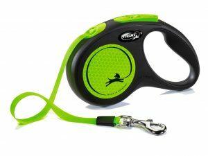 Flexi New Neon S (riem 5m) groen