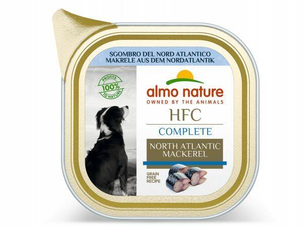 HFC Dogs 85g Complete Noord-Atlantische makreel