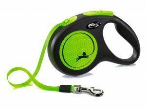 Flexi New Neon M (riem 5m) groen