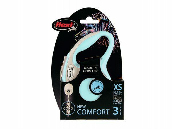 Flexi New Comfort XS (koord 3m) lichtblauw